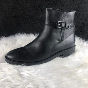 TOP SHOP LEATHER BOOTIES SIZE 8.5
